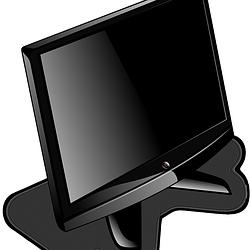 tv monitor crtež free