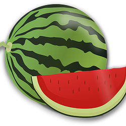 lubenica crtež free