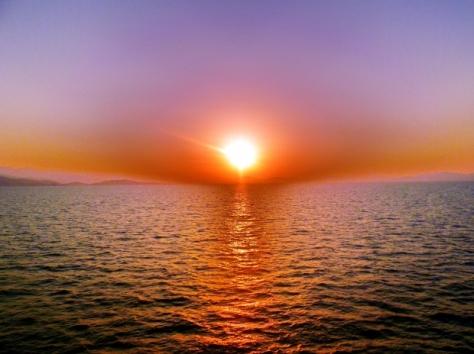 zalazak sunca u moru free