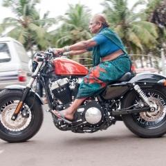 motorciklista horor free